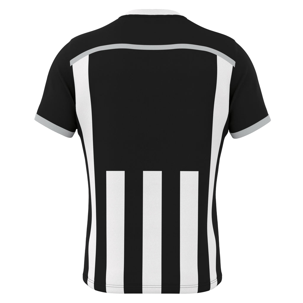 Errea Elliot Short Sleeve Shirt (Black/White)