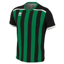 Load image into Gallery viewer, Errea Elliot Short Sleeve Shirt (Black/Green)
