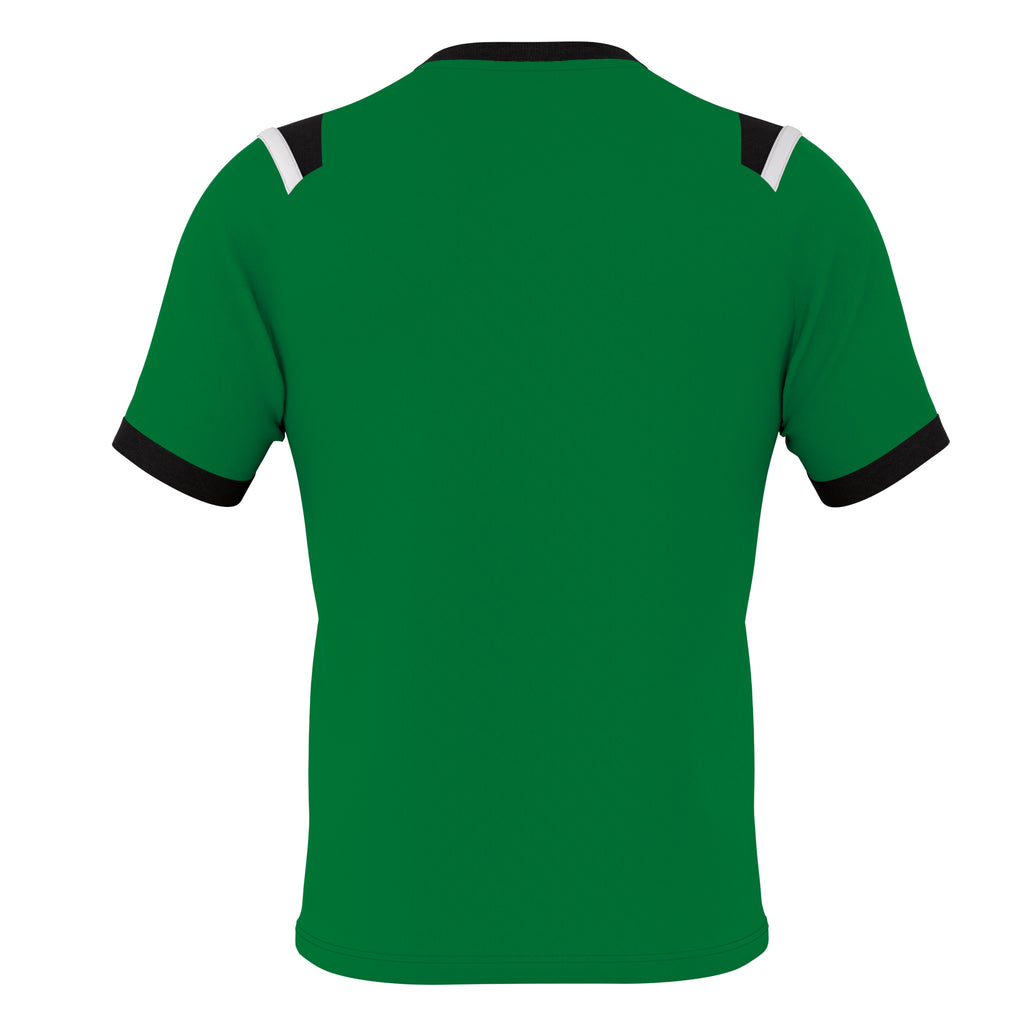 Errea Lucas Short Sleeve Shirt (Green/Black/White)