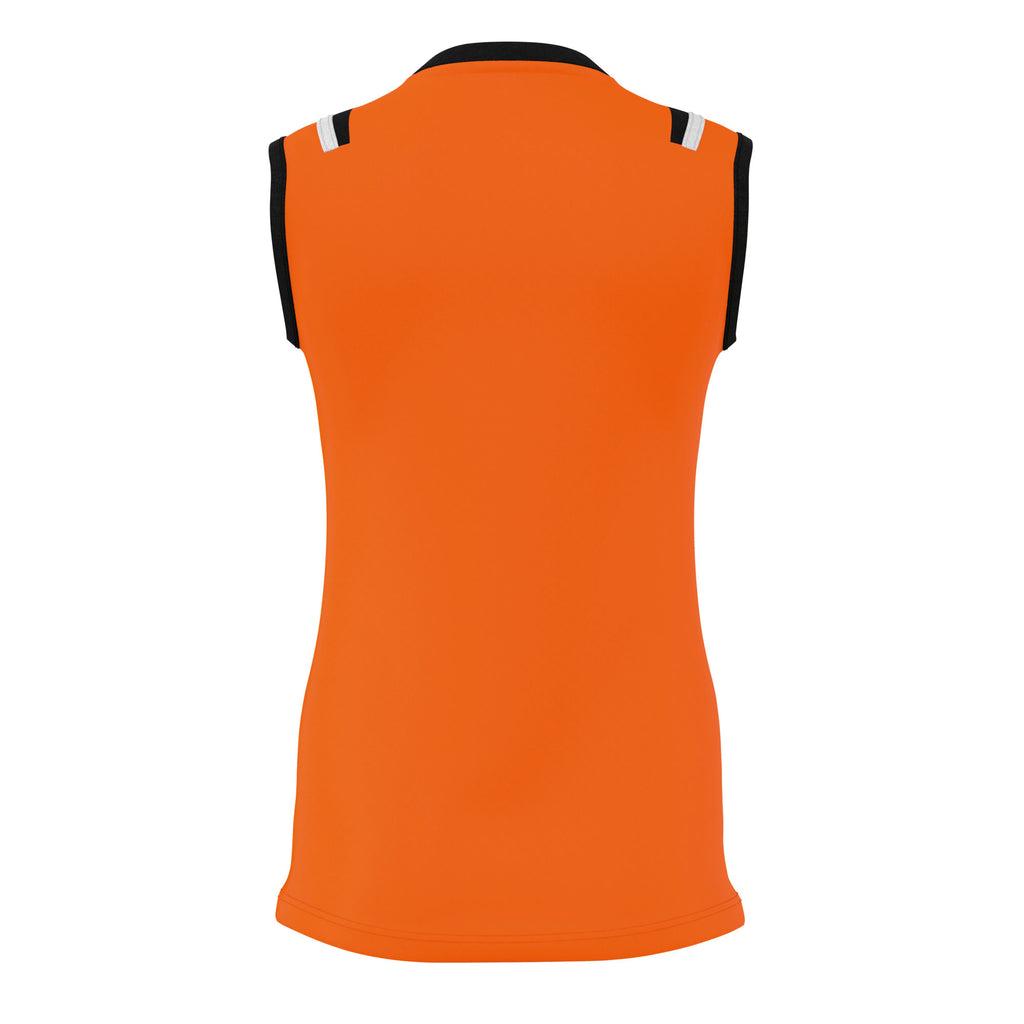 Errea Women's Lisa Vest Top (Orange/Black/White)