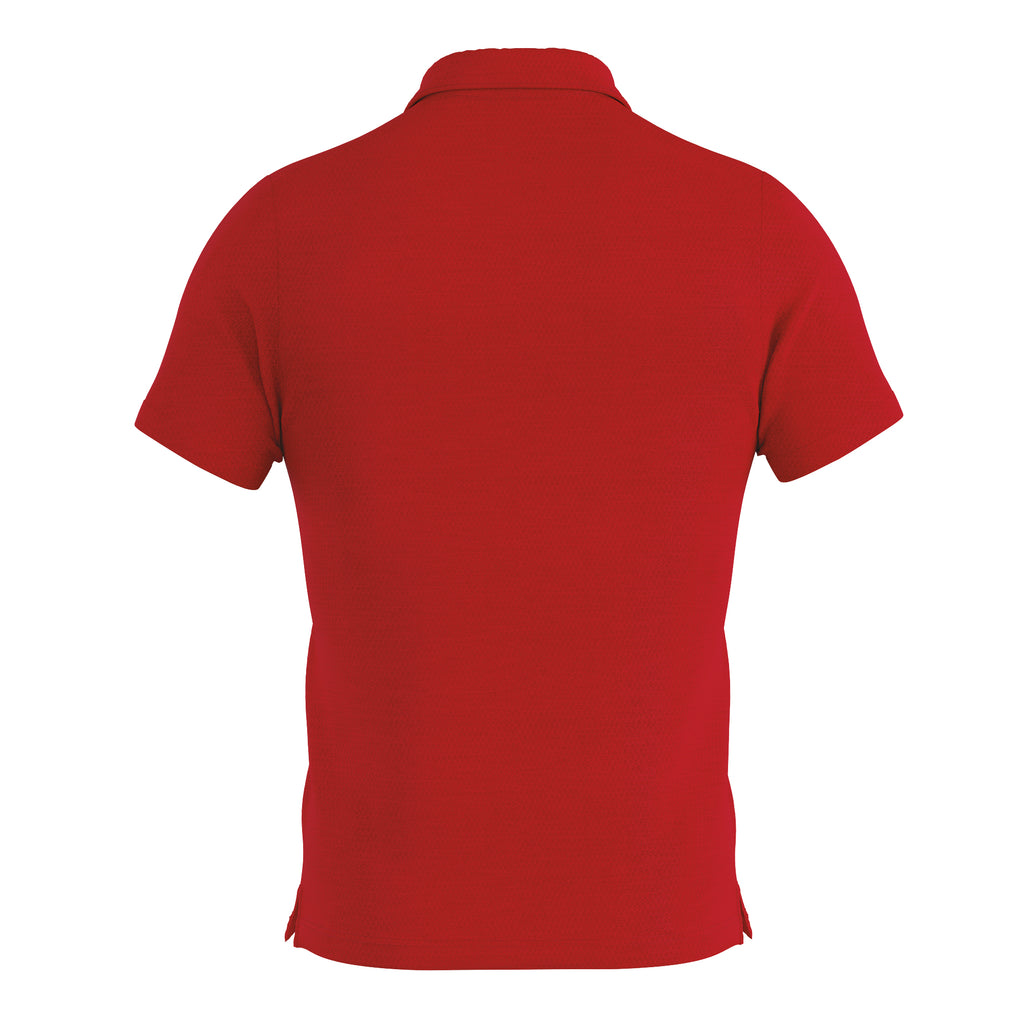 Errea Praga 3.0 Short Sleeve Shirt (Red/White)