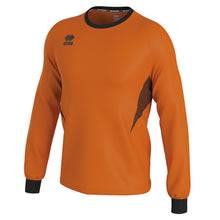 Load image into Gallery viewer, Errea Malibu Goalkeeper Shirt (Orange Fluo/Black)