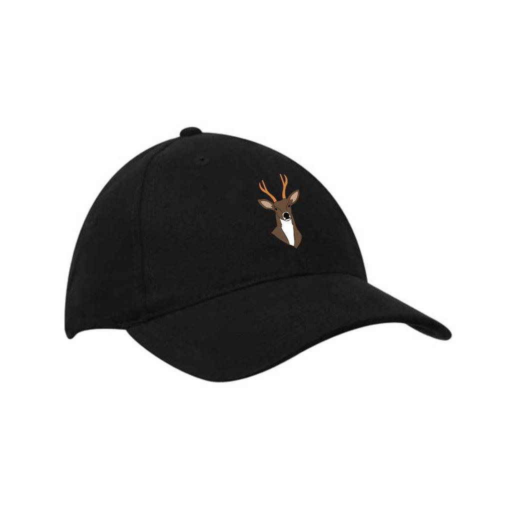 Roe Green CC Junior Cricket Cap (Black)