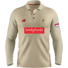Load image into Gallery viewer, Roe Green CC New Balance LS Cricket Shirt (Angora)