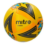Mitre Ultimatch Base-Level Match Football (Yellow/Orange/Black)