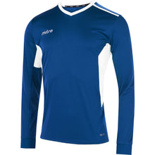 Load image into Gallery viewer, Mitre Diverge LS Football Shirt (Royal/White)