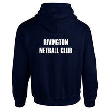 Load image into Gallery viewer, Rivington Netball Club Hoodie (Navy)