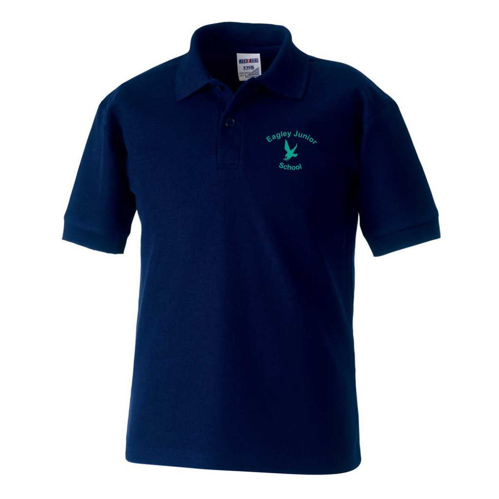 Eagley Junior School Polo Shirt (French Navy)