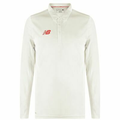 New Balance Womens LS Cricket Shirt (Angora)