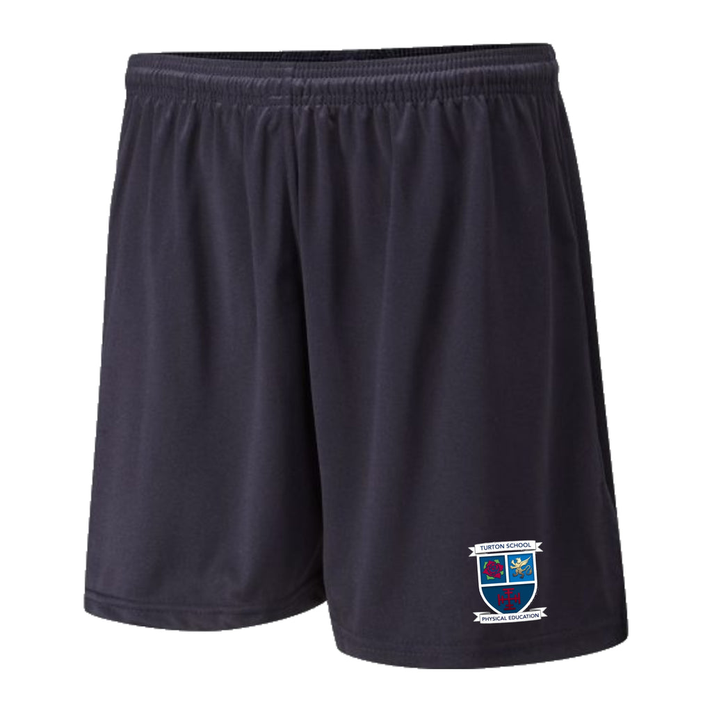 Turton School PE Shorts (Navy)
