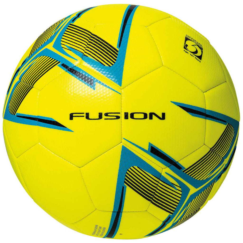 Precision Fusion Training Ball (Fluo Yellow/Cyan/Black)