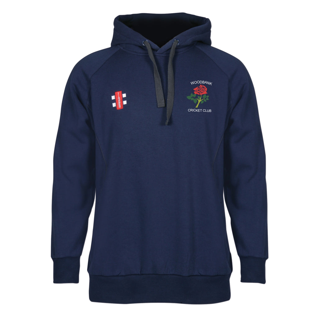 Woodbank CC Gray Nicolls Storm Hooded Top (Navy)