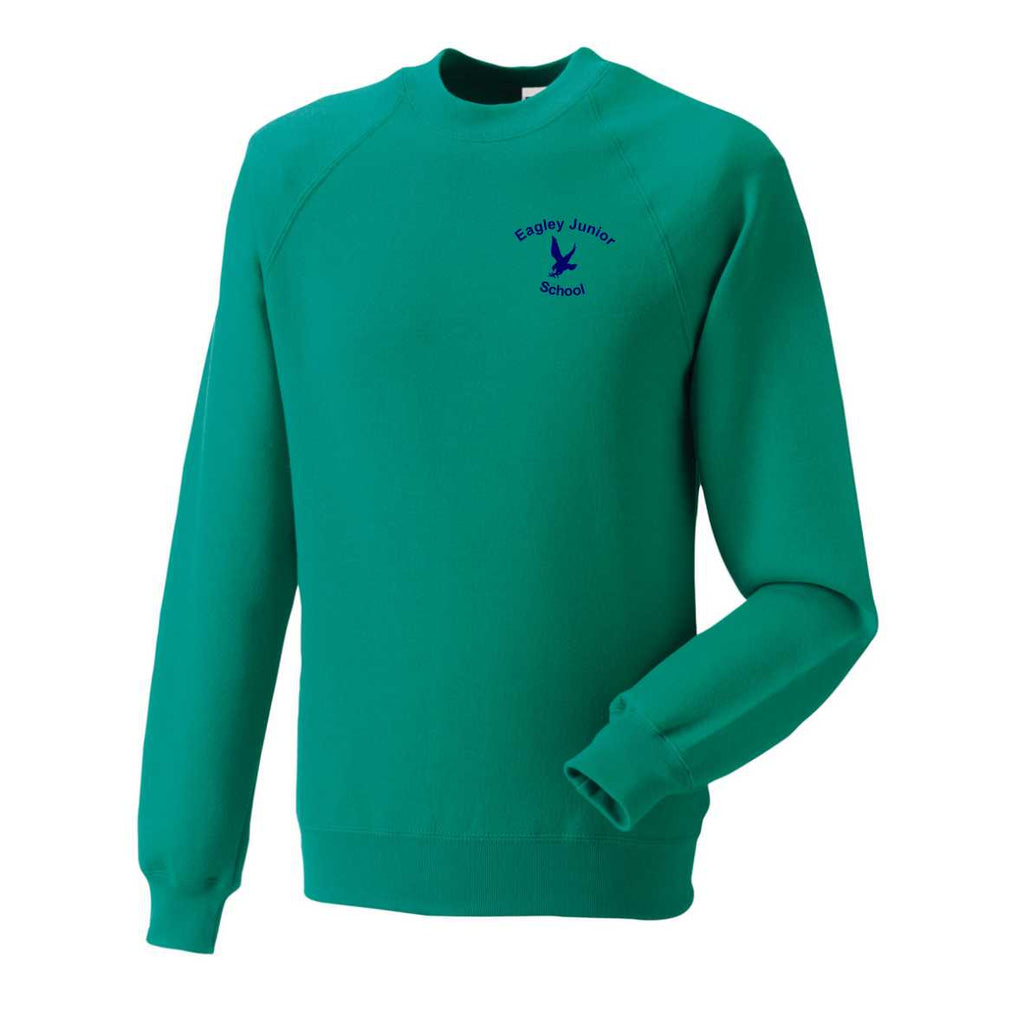 Eagley Junior School Sweatshirt (Winter Emerald)