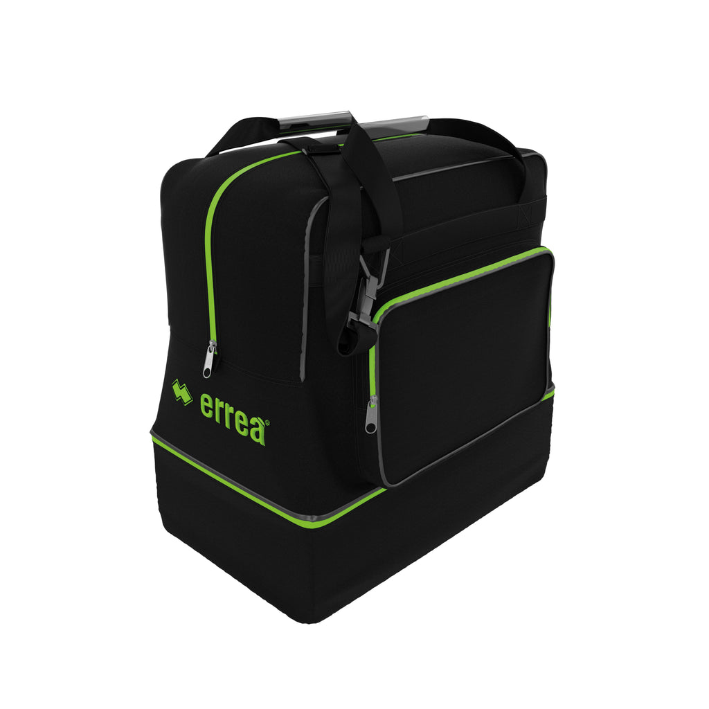 Errea Basic Media Bag (Black/Green Fluo)