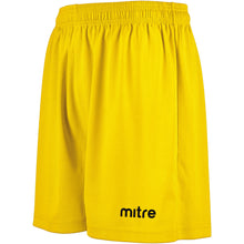 Load image into Gallery viewer, Mitre Metric II Football Shorts (Yellow)