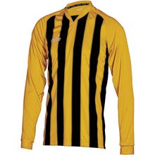 Load image into Gallery viewer, Mitre Optimize LS Football Shirt (Amber/Black)