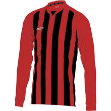 Load image into Gallery viewer, Mitre Optimize LS Football Shirt (Scarlet/Black)