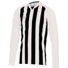 Load image into Gallery viewer, Mitre Optimize LS Football Shirt (White/Black)