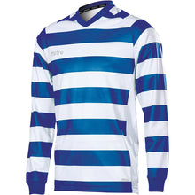 Load image into Gallery viewer, Mitre Converge LS Football Shirt (Royal/White)