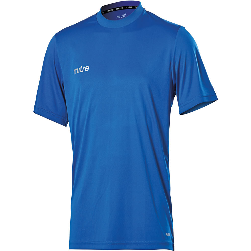 Mitre Camero SS Football Shirt (Royal)