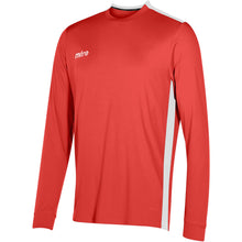 Load image into Gallery viewer, Mitre Charge LS Football Shirt (Scarlet/White)