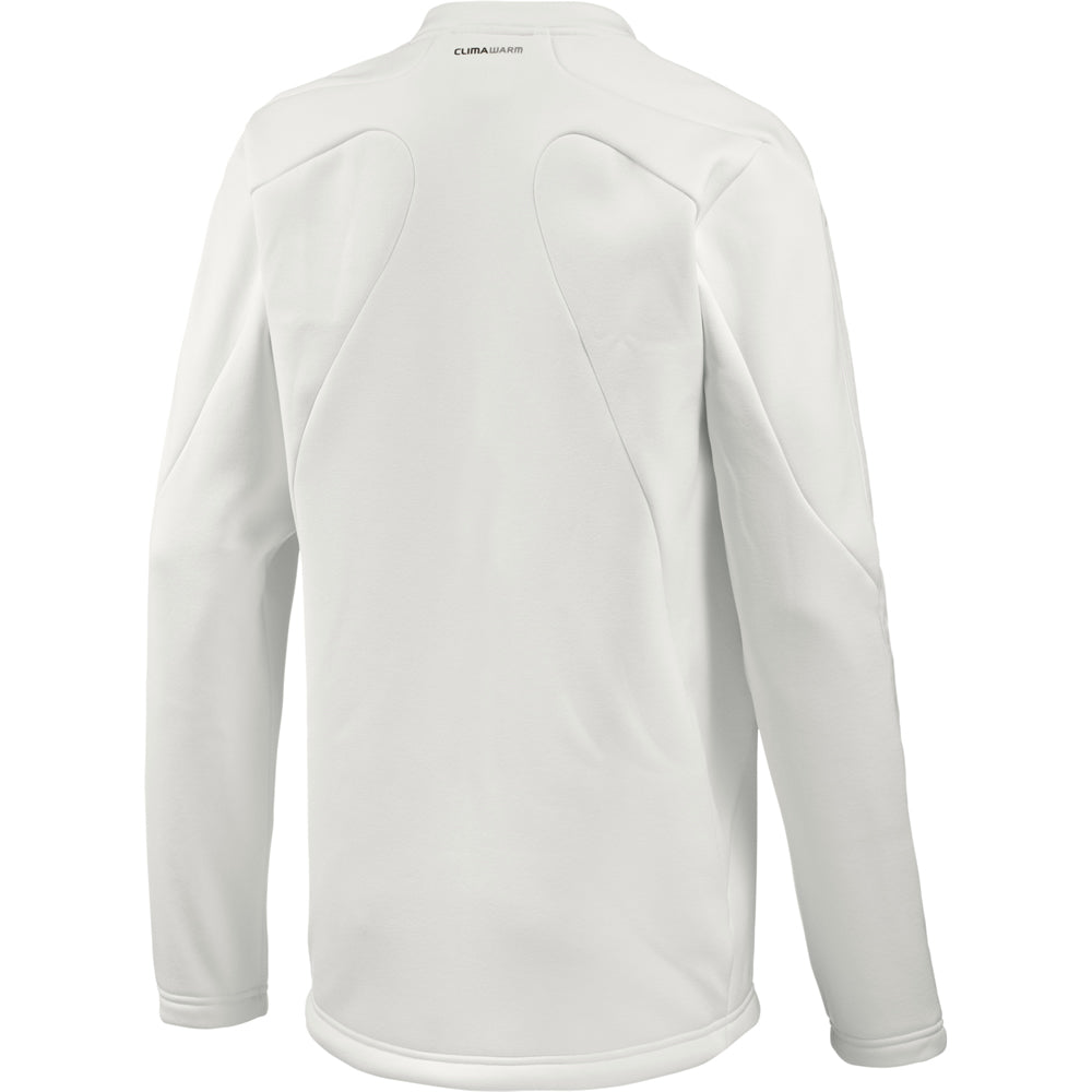 Adidas Long Sleeve Cricket Sweater (Chalk)