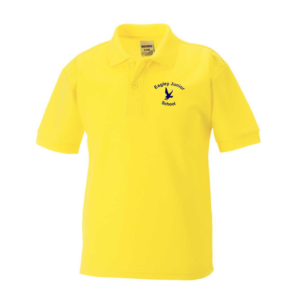 Eagley Junior School PE Polo Shirt (Yellow)