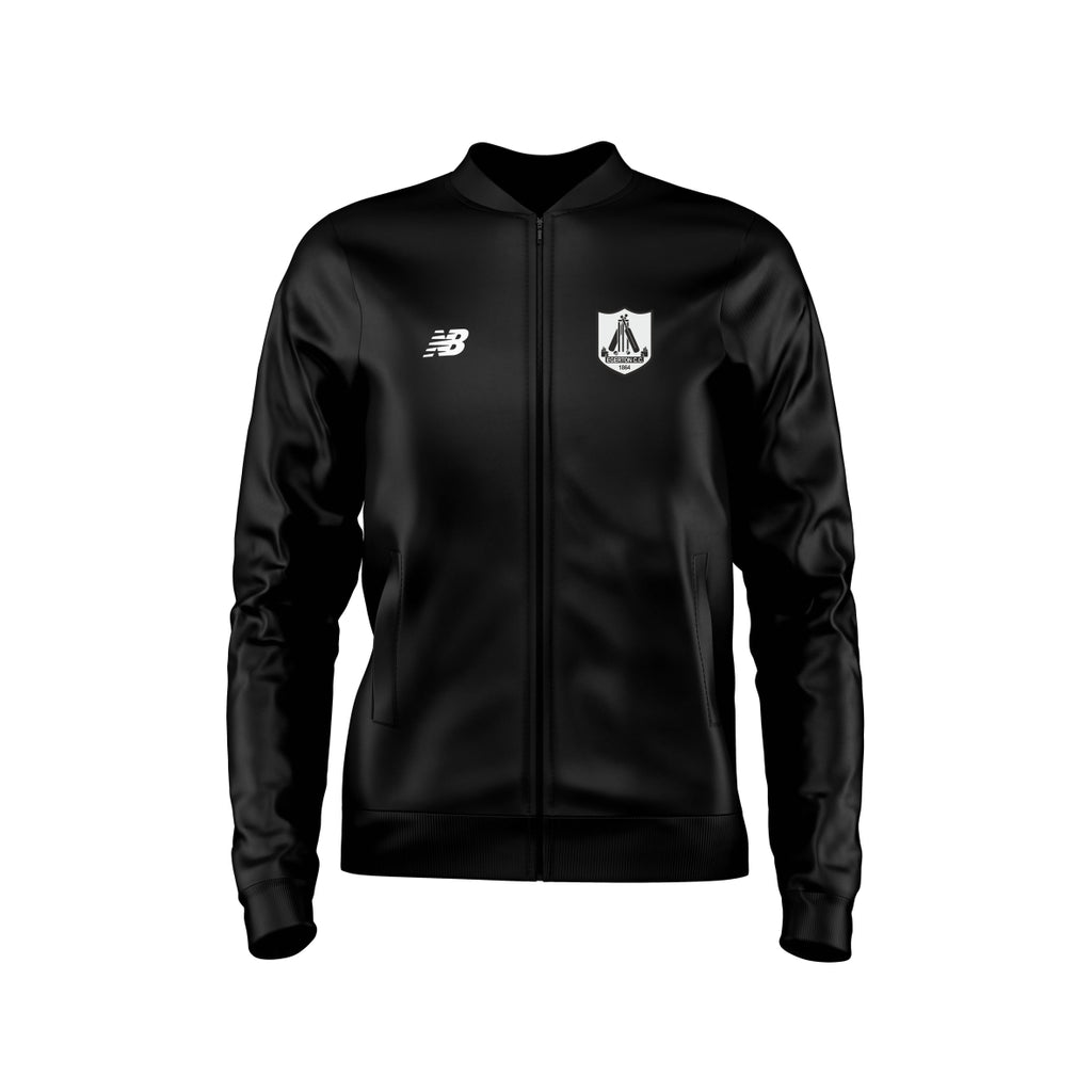 Egerton CC New Balance Training Jacket Knitted (Black)
