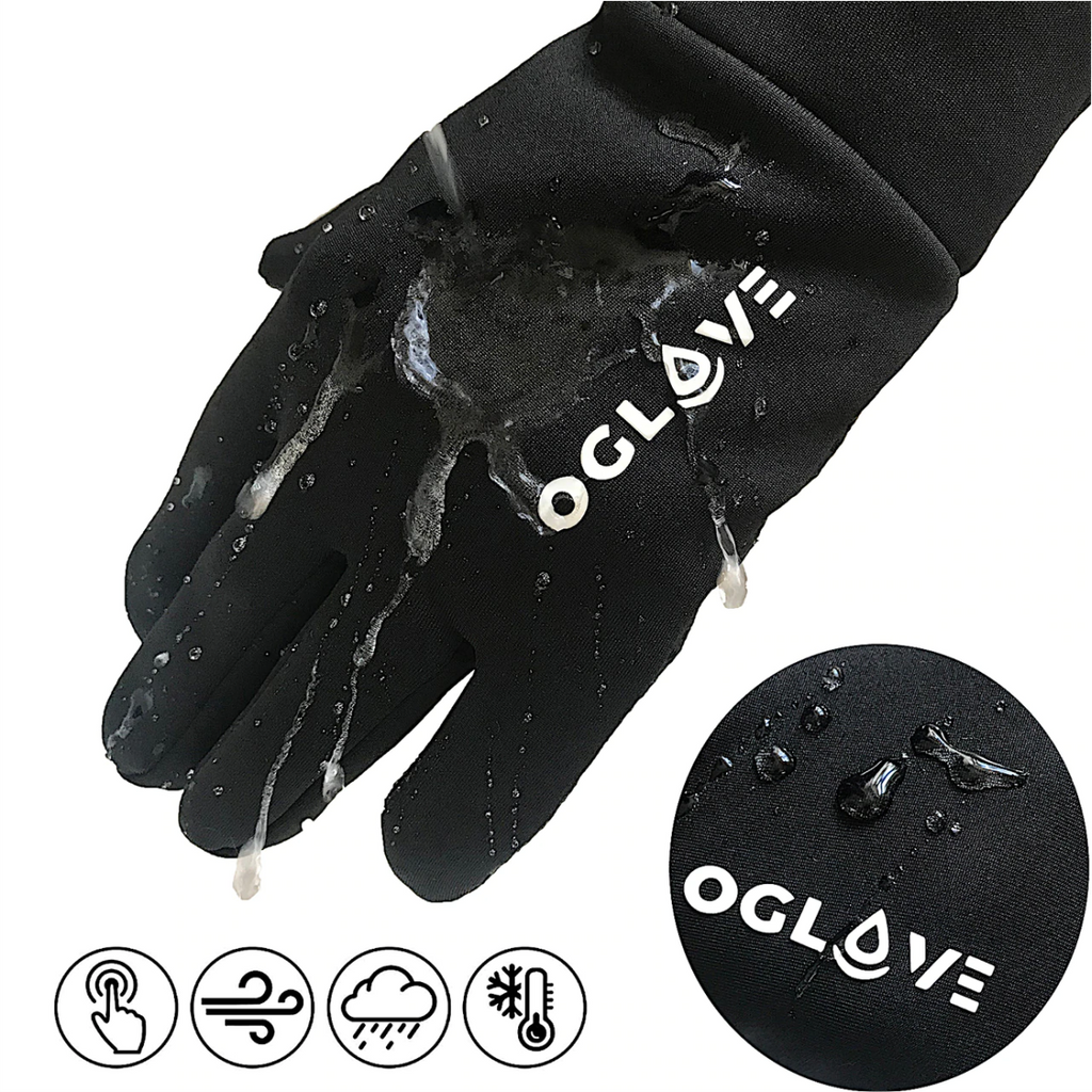 Oglove Waterproof Thermal Sport Field Gloves (Black)
