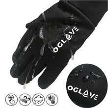 Load image into Gallery viewer, Oglove Waterproof Thermal Sport Field Gloves (Black)