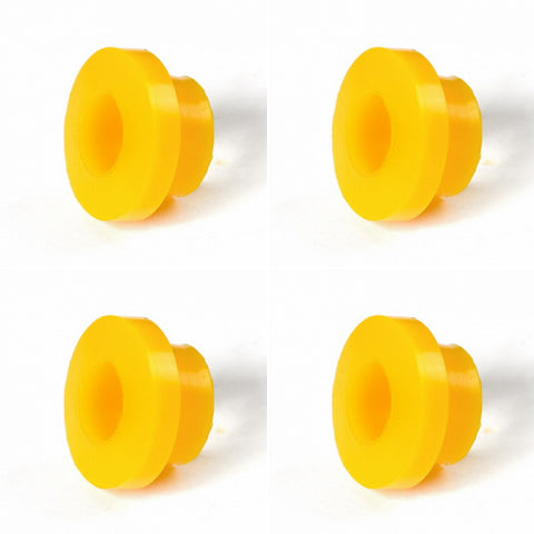 Siberian Bushing 0-03-282-4 Set of 4 Polyurethane bushings shock absorber, cone / collar, I.D. = 19 mm,