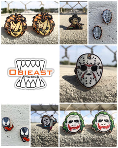 Villain Pins (Pin head)