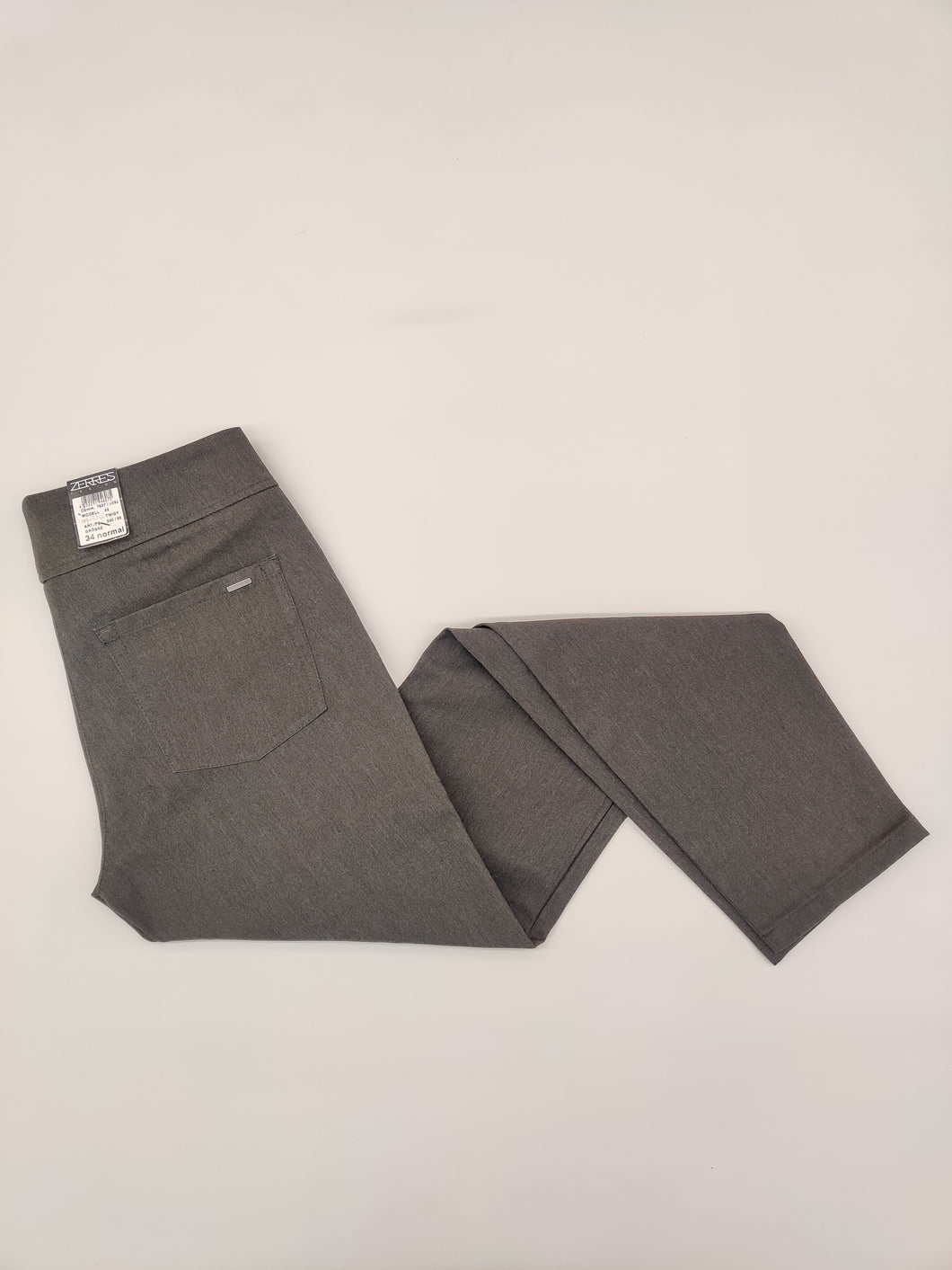 Twiggy grey trousers from Zerres