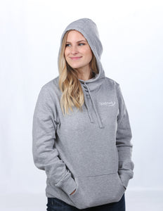 District Made Ladies Lightweight Fleece Hoodie