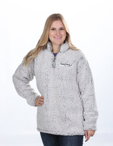 J America Ladies Epic Sherpa 1/4 Zip