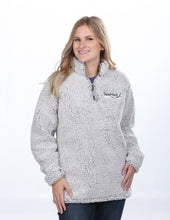 Load image into Gallery viewer, J America Ladies Epic Sherpa 1/4 Zip