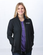 Load image into Gallery viewer, Sport-Tek Ladies Sport Wick Stretch Contrast Full-Zip Jacket