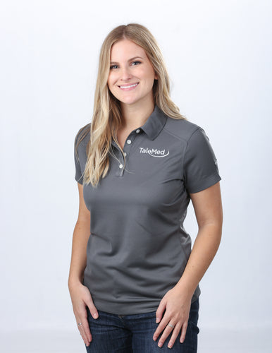 Nike Golf Ladies Dri-Fit Pebble Texture Polo Shirt