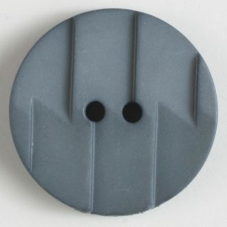 28mm 2-Hole Round Button - gray