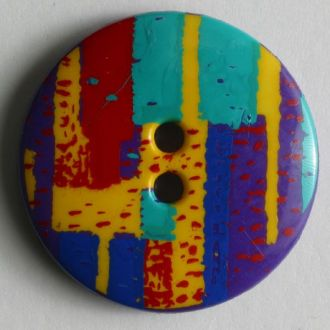 25mm 2-Hole Round Button - multi