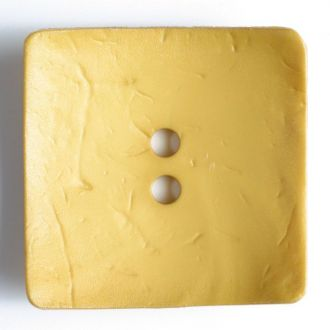 60mm 2-Hole Square Button - yellow