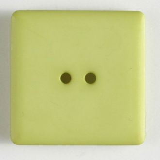 25mm 2-Hole Square Button - light green