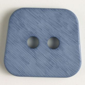 30mm 2-Hole Square Button - gray blue