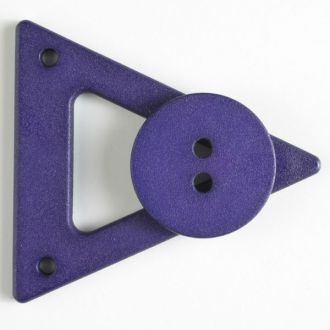 70mm Closure with Button - purple