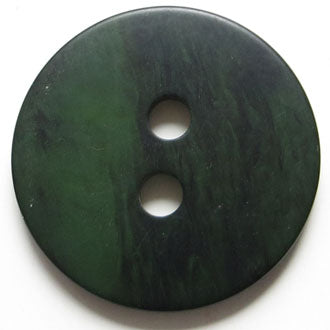 30mm 2-Hole Round Button - green