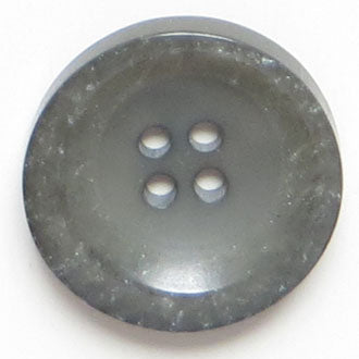 25mm 4-Hole Round Button - gray