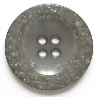 38mm 4-Hole Round Button - gray