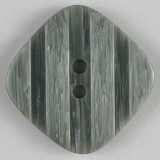 23mm 2-Hole Square Button - gray