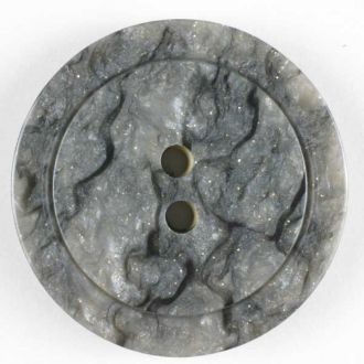 25mm 2-Hole Round Button - gray