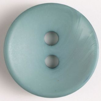 23mm 2-Hole Round Button - gray-green